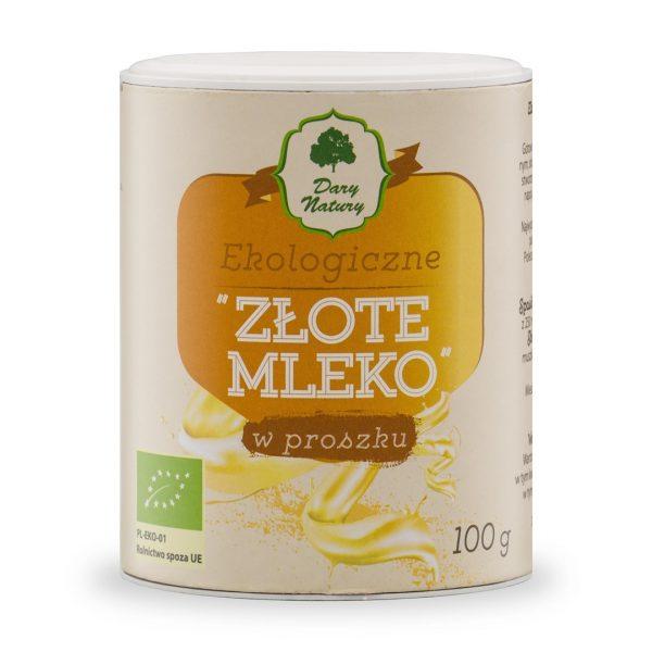 Dary Natury Złote mleko 100g EKO