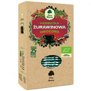 Dary Natury Herbata Żurawinowa 25sasz. EKO