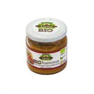 Farma Świętokrzyska Hummus z suszonymi pomidorami 160g BIO