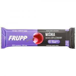 Frupp wiśnia - baton liofilizowany 10g
