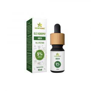 Hempking Olej konopny CBG 5% Green 10ml