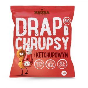 Chrupki o smaku ketchupowym Naura 50g BIO