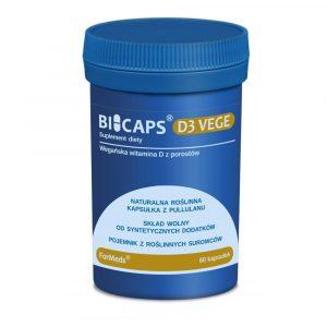 BICAPS D3 Vege 60 kap