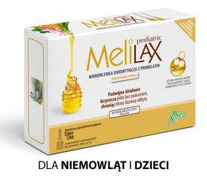 Aboca Melilax Pediatric 6 wlewek