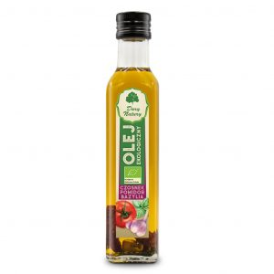 Dary Natury Olej czosnek-pomidor-bazylia 250ml EKO