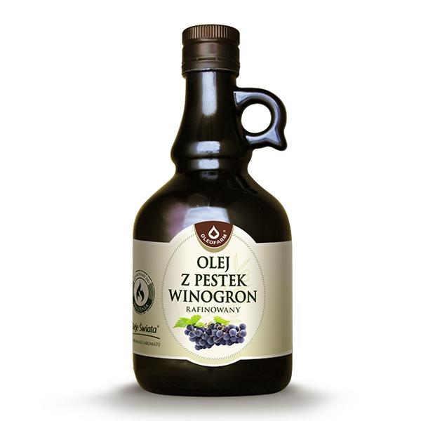 Olej z pestek winogron 500ml