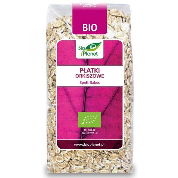 Bio Planet Płatki orkiszowe 600g BIO