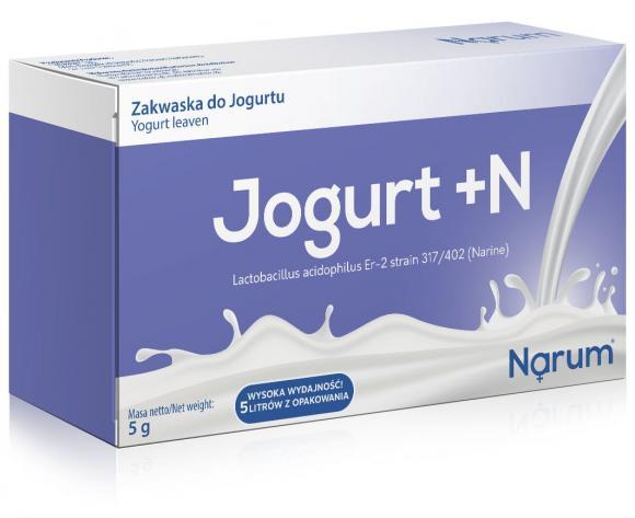 Narine Jogurt - zakwaski do jogurtu 5sasz.