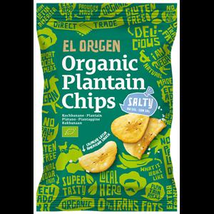 Chipsy z plantana solone bezgl. 80g BIO