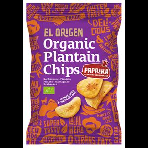Chipsy z plantana paprykowe bezgl. 80g BIO