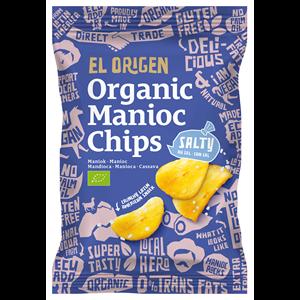 Chipsy z manioku solone bezgl. 60g BIO