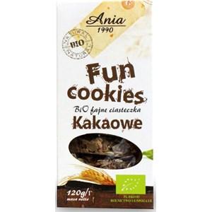 Ania BIO FUN Ciasteczka Kakao 120g