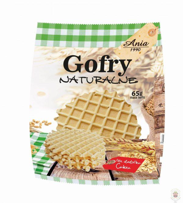 Ania Gofry naturalne 65g BIO