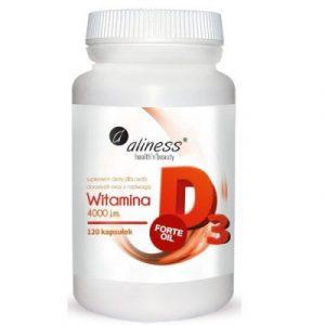 Aliness Witamina D3 4000 120 kaps