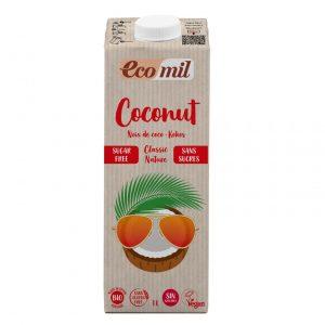 Ecomil Napój kokosowy bez cukru 1l