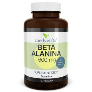 Medverita Beta Alanina 600mg 60 kaps