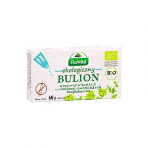 EKOWITAL Bulion warzywny o obniżonej zawartości soli 60g