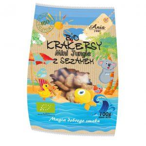 Ania Bio krakersy z sezamem 100 g