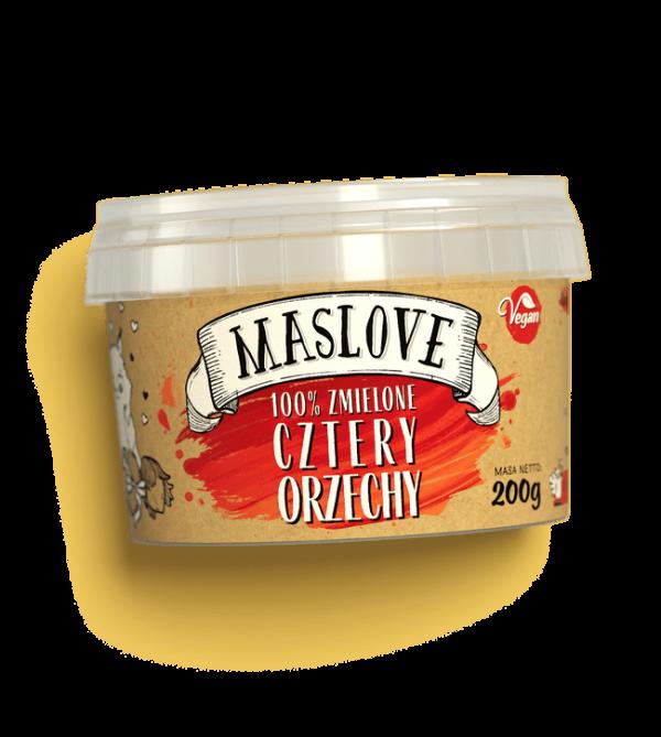 Maslove Cztery orzechy 200g