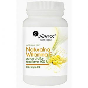 Aliness Naturalna Witamina E 400IU 100 kaps