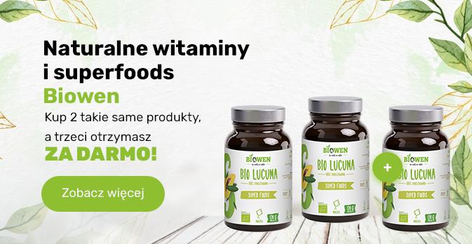 Naturalne witaminy i superfoods