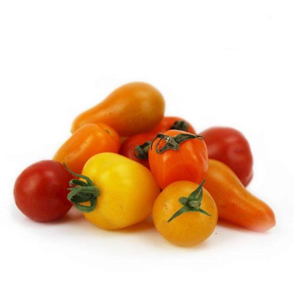Pomidory koktajlowe mix świeże (około 0,25kg) BIO