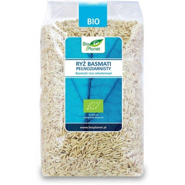 Bio Planet Ryż Basmati pełnoziar. 1kg BIO