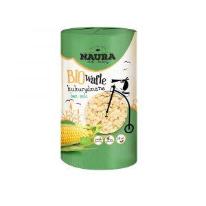 Wafle kukurydziane bez soli Naura 100g BIO