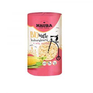 Wafle kukurydziane z solą Naura 100g BIO
