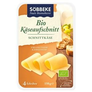 Mix serów w plastrach BIO 150 g - SOBBEKE