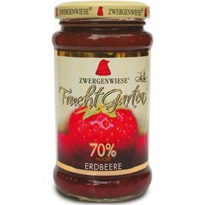 Mus truskawkowy (70% owoców) bezglutenowy BIO 225 g - ZWERGENWIESE