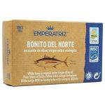 Tuńczyk biały w BIO oliwie z oliwek extra virgin 115 g (80 g) - EMPERATRIZ
