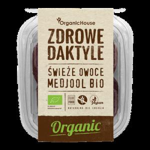 Organic House Świeże Daktyle Medjool 280g BIO