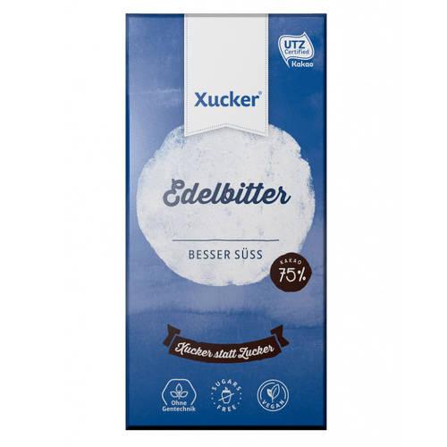 Czekolada gorzka 75% z ksylitolem 80g Xucker
