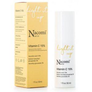NACOMI Serum z witaminą C 15 % 30 ml