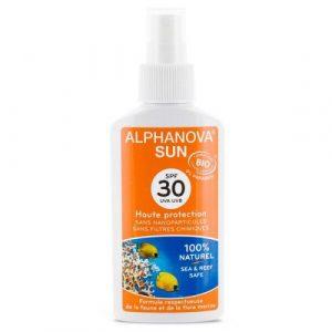 Alphanova Spray przeciwsłoneczny SPF30 125g