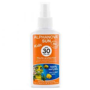 Alphanova Spray przeciwsłoneczny SPF 30 KIDS 125ml