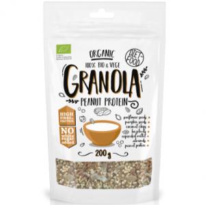 DIET-FOOD Granola z proteiną arachidową 200g