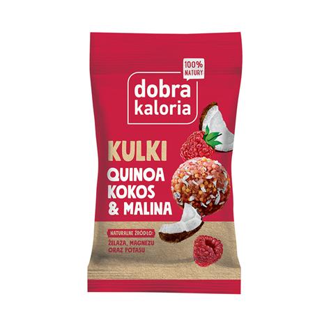 Dobra Kaloria Kulki Malina, Kokos 24g
