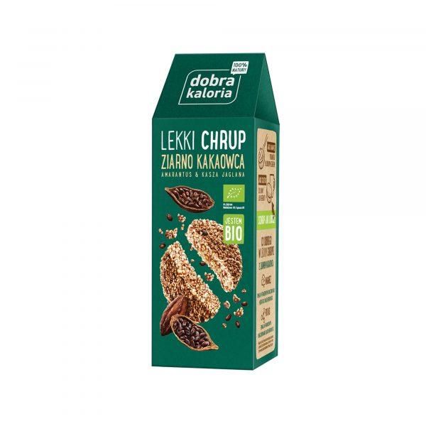 Dobra Kaloria Lekki chrup ziarno kakao 80g BIO
