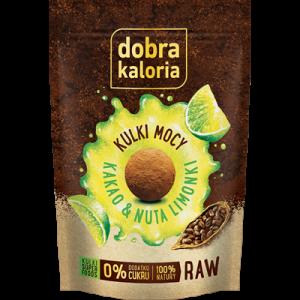 Dobra Kaloria Kulki kakao limonka 65g