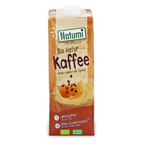 Natumi Napój owsiany o smaku kawy 1l BIO
