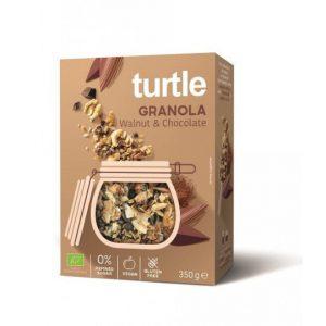 Turtle Granola Orzech włoski czekolada 350g BIO