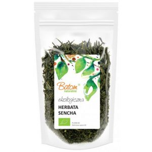 Batom Herbata zielona Sencha 75g BIO