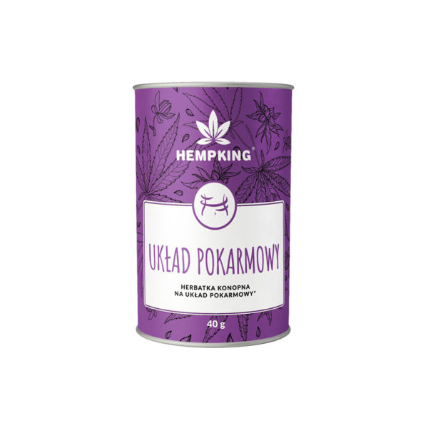 Hempking Herbatka Układ pokarmowy 40g