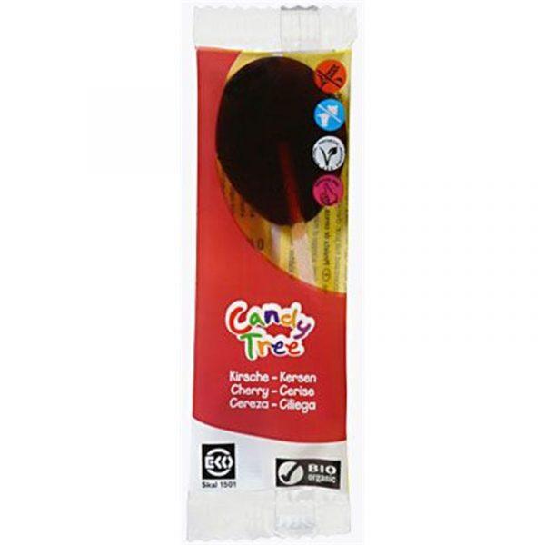 Candy Tree Lizak o smaku wiśniowym bezgl. 13g BIO