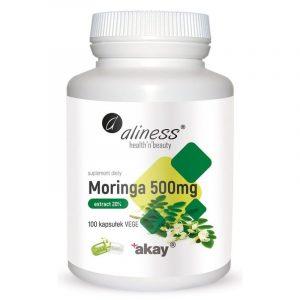 Aliness Moringa ekstrakt 500mg 100kaps