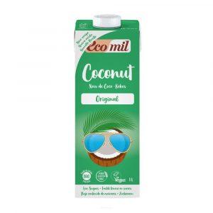 Ecomil Napój kokosowy z syrop. z agaw. BIO 1l