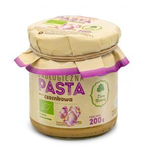 Dary Natury Pasta czosnkowa 200g EKO