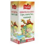 Apotheke Herbatka dla dzieci lipa, czarny bez, rumianek  (20 x 1,5g) BIO
